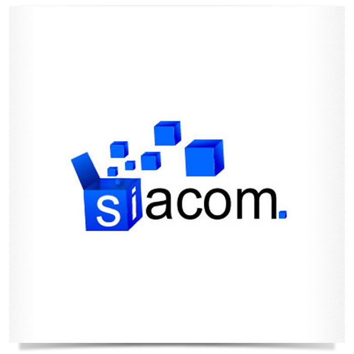 Logo Siacom - agência de marketing